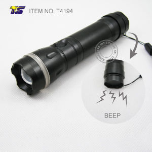LED Flashlight with Alarm Self Protector (T4194)