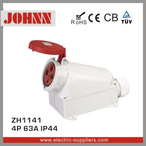 IP44 4p 63A Surface Mounted Socket pictures & photos