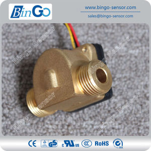 High Temperature 1/2′′ Connection Male Brass Flow Sensor, Water Flow Sensor pictures & photos