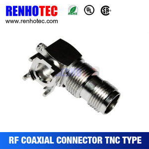 Right Angle TNC Connector for PCB Board Connector pictures & photos