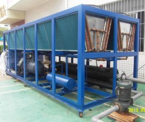 Ce Certificate 100ton Large Capacity Air Cooled Recirculating Water Chiller