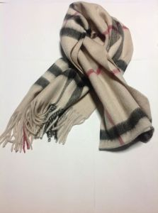Fashion Checked Cashmere Scarf and Shawl For Gifts and Handcraft