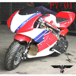 P7-01 49cc Hot Sale Pocket Motorcycle Dirt Bike pictures & photos