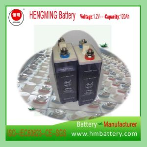 110V Nickel Cadmium Battery/Rechargeable Battery/Ni-CD Battery Kpm120 for Substation pictures & photos