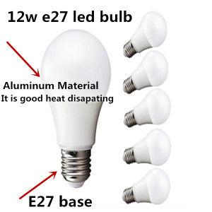 China A19 Led Light Bulb Standard E26e27 Base 12 W Energy Saving