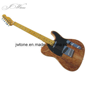 Spalted Maple Top Tele Electric Guitar
