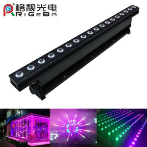 18LEDs 8W RGBW 4in1 Indoor LED Wall Washled Wall Washer pictures & photos