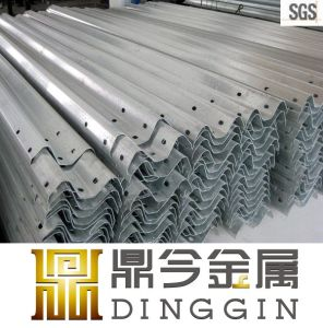 Cheap Hot DIP Galvanized Steel Highway Guard Rail Price pictures & photos