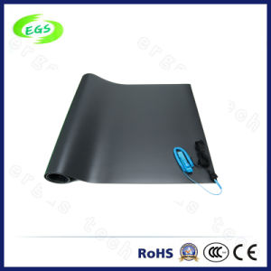 Glossy Anti Static ESD Rubber Poker Table/Floor Mat for Production Line pictures & photos