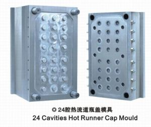 Cap Mould with Hot Runner