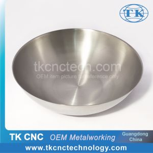 Kitchen Equipment Tray Wok CNC Metal Spinning Titanium pictures & photos