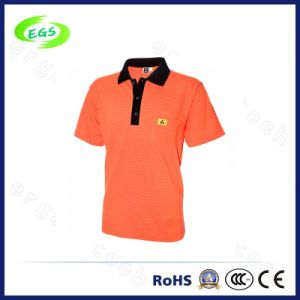 Factory Supply Private Customized ESD Polo Coverall T-Shirts pictures & photos