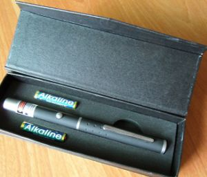 100mw 532nm Light Match Green Laser Pointer Pen (LM-201)