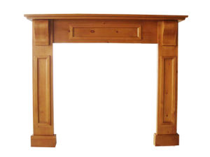 Solid Pine Fireplace Mantel (FA109)