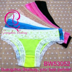 ef11294e7e7c2 China 0.25 USD Women Underwear for Wholesale Guangzhou Bestway Underwear  Supply Lower Price Cute Bikini Underwear with Lace for Women (BW53052) -  China ...