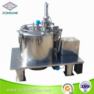Full Stainless Steel Food Standard Top Discharge Flat Filter Olive Oil Centrifuge for Removing The Solid Phase pictures & photos