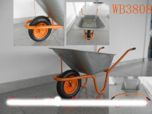 Farmning, Construction Hand Truck, Romania Wheel Barrow (Wb3808)