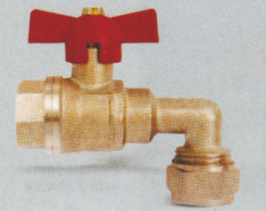 Brass Ball Valve with Elbow pictures & photos