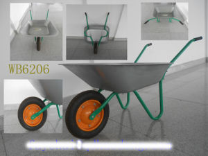 Russia Wheel Barrow, Hand Truck, Hand Trolley, Wheel Barrow (Wb6206)
