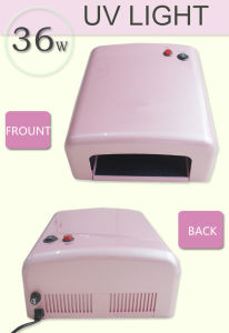 Professional Pearl Pink Color for UV Gel Cure Nail Art 36W UV Lamp