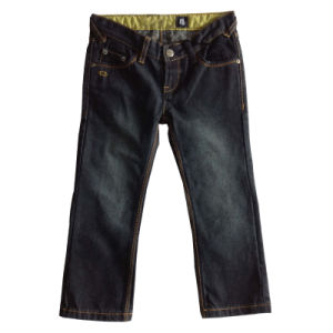 Stylish Kid′s Jeans Straight Denim Jeans
