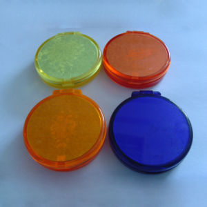 Paper Soap on Round Plastic Case
