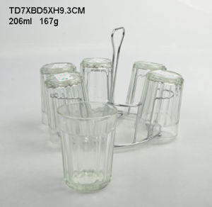 Glass Pressed Cup (28-0176-NH) pictures & photos