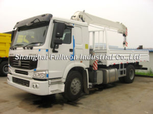 Sinotruk HOWO 4X2 Cargotruck Mounted Crane pictures & photos