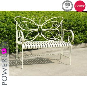 Butterfly Shape Antirust Patio Bench