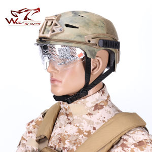 Paintball Exf Bump Airsoft Military Tactical Safety Helmet pictures & photos
