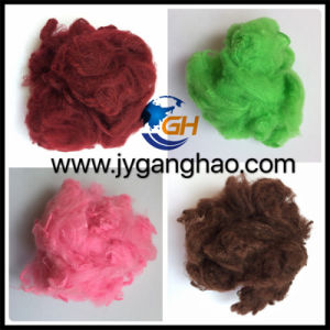 Colored Polyester Staple Fiber (PSF) pictures & photos