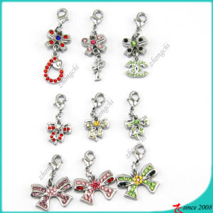 Crystal Bowknot Charms for Bracelet Charms (MPE)