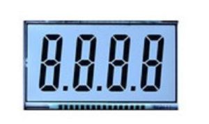 4 Digit Cutom Segment LCD Display
