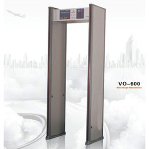 6 Zone Walk Through Metal Detector Vo-600 pictures & photos