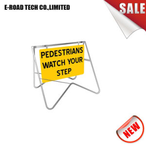 3m Sign and Standpedestrians Watch Your Step Traffic Sign