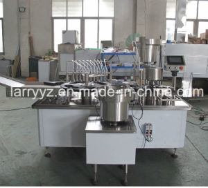 XL-10b Vial Filling Plugging Capping Machine & Vial Filling Stoppering Crimping Machine pictures & photos