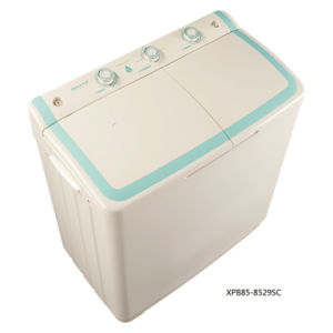 8.5kg Twin-Tub Top-Loading Washing Machine for Qishuai Model XPB85-8529SC pictures & photos