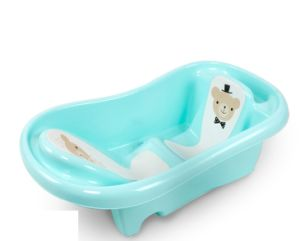 China Popular Plastic Baby Bathtub Middle Soking of Shower Tub ...