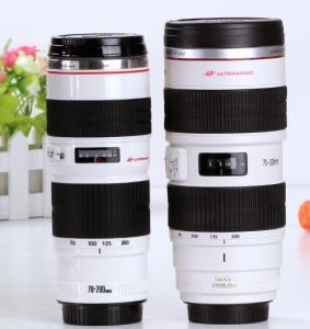 Cheap New Fashion Coffee Camera Lens Mug with High Quality pictures & photos