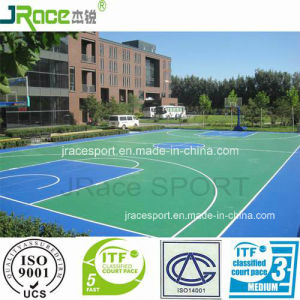 Aging Resistance Basketball Games Resilient Flooring pictures & photos