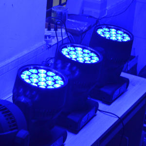 LED Effect Zoom Beam Moving Head Light For Stage