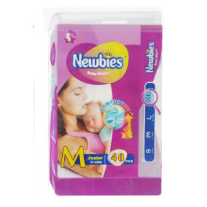 Disposable Diaper with Core Structure (M)