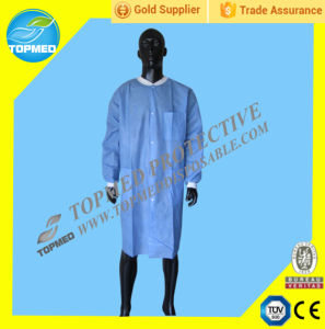 Disposable SBPP Lab Coat, Dotcot Coat, Dispsaoble Worker Coat pictures & photos