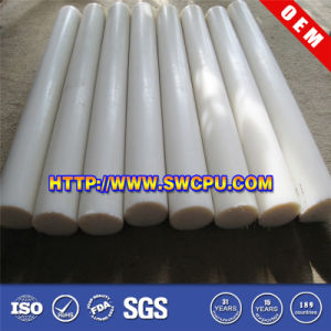 Teflon Flat Bar Teflon Round Bar PTFE Extruded Rod pictures & photos