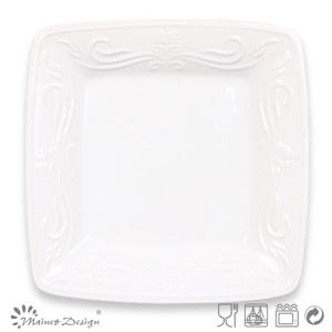 Square Shape Ceramic Stoneware Plate pictures & photos
