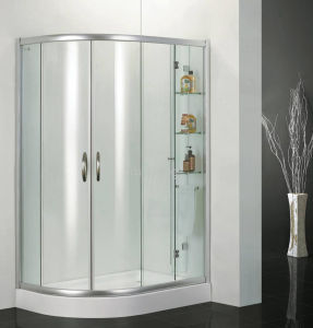 10mm Clear Toughened Glass as Shower Room