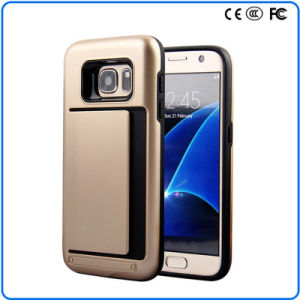 Slim Fit Dual Layer Armor Hybrid Scratch-Resistant Protection Rubber Case Cover for Samsung Galaxy S7 Edge