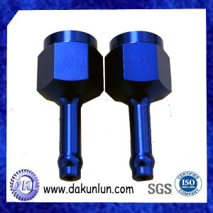 Dark Blue Anodised Aluminum CNC Machining Parts