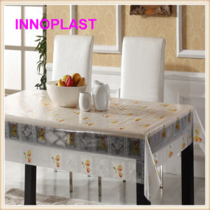 Plastic Transparent Table Cover /PVC Table Clothes Wholesale pictures & photos