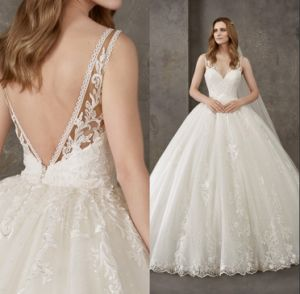 Lace Ball Gown Bridal Wedding Dress